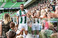 GRONINGEN - Voetbal, Opendag FC Groningen, seizoen 2018-2019, 05-08-2018, FC Groningen speler Mimoun Mahi