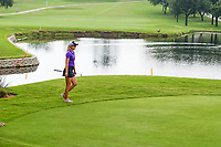 Anna Nordqvist (SWE) crosses the bridge on 8 during round 2 of  the Volunteers of America Texas Shootout Presented by JTBC, at the Las Colinas Country Club in Irving, Texas, USA. 4/28/2017.<br /> Picture: Golffile | Ken Murray<br /> <br /> <br /> All photo usage must carry mandatory copyright credit (&copy; Golffile | Ken Murray)