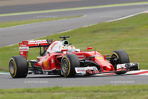 Sebastian Vettel (GER), <br /> OCTOBER 8, 2016 - F1 : Japanese Formula One Grand Prix Qualifying <br /> at Suzuka Circuit in Suzuka, Japan. (Photo by Sho Tamura/AFLO SPORT) GERMANY OUT