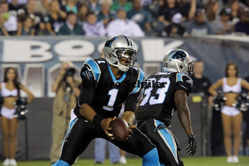 QB Cam Newton (Carolina) - Philadelphia Eagles vs. Carolina Panthers, Lincoln Financial Field