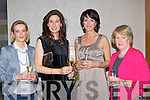 Louise O'Donnell, Juliet Lyons, Margaret Leech all Fossa and Kathleen O'Connor Brosna at the Brown Thomas fashion show in the Aghadoe Heights Hotel Killarney on Friday night....