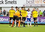 2015-10-25 / Voetbal / seizoen 2015-2016 / KSK Heist - K Lierse SK /svbo /  Muurtje K Lierse SK <br />Foto: Mpics.be