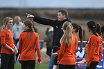 November 1, 2014; Sunnyvale, CA, USA; Pacific Tigers women's cross country team head coach Josh Jones during the WCC Cross Country Championships at Baylands Park.