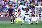 53e Trofeu Joan Gamper.<br /> FC Barcelona vs Club Atletico Boca Juniors: 3-0.<br /> Philippe Coutinho, Nahitan Nandez &amp; Ramon Abila.