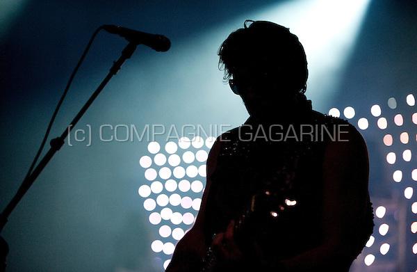 Belgian new-wave band Neon Judgement presenting their new album Smack in the Ancienne Belgique, Brussels (Belgium, 28/04/2009)