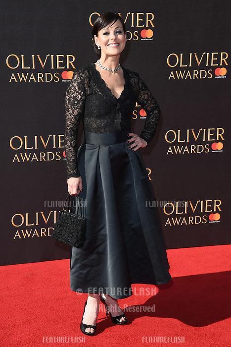 Ruthie Henshall at The Olivier Awards 2017 at the Royal Albert Hall, London, UK. <br /> 09 April  2017<br /> Picture: Steve Vas/Featureflash/SilverHub 0208 004 5359 sales@silverhubmedia.com