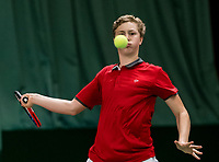 Wateringen, The Netherlands, March 9, 2018,  De Rijenhof , NOJK 12/16 years, Bastiaan Weststrate (NED)<br /> Photo: www.tennisimages.com/Henk Koster