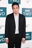 "LONDON, UK. September 25, 2019: Takehiro Hira at the"" GIRI/HAJI"" screening at the Curzon Bloomsbury, London.<br /> Picture: Steve Vas/Featureflash"