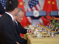 September 19, 2013  (Washington, DC)  Chinese Ambassador Cui Tiankai at the State Department for a bilateral meeting between the Chinese delegation and Secretary of State John Kerry.  (Photo by Don Baxter/Media Images International)