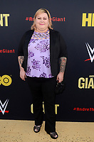 """LOS ANGELES - FEB 29:  Robin Christensen at the """"Andre The Giant"""" HBO Premiere at the Cinerama Dome on February 29, 2018 in Los Angeles, CA"""