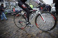 Cl&eacute;ment Chevrier (FRA/IAM) to the start<br /> <br /> 102nd Li&egrave;ge-Bastogne-Li&egrave;ge 2016