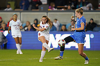 SAN JOSE, CA - DECEMBER 6: Carly Malatskey #6 of the Stanford Cardinal during a game between UCLA and Stanford Soccer W at Avaya Stadium on December 6, 2019 in San Jose, California.