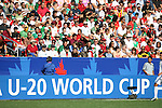 02 July 2007: Fans at the U-20 World Cup. At the National Soccer Stadium, also known as BMO Field, in Toronto, Ontario, Canada. Mexico's Under-20 Men's National Team defeated Gambia's Under-20 Men's National Team 3-0 in a Group C opening round match during the FIFA U-20 World Cup Canada 2007 tournament.