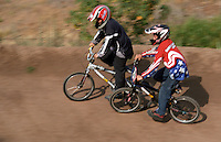 BMX bicycle racing at Elings Park Santa Barbara California