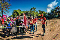 Festa religiosa Romaria de Nossa Senhora no quilombo Vao das Almas em Cavalcante. Goias. 2015. Foto de Sergio Amaral.