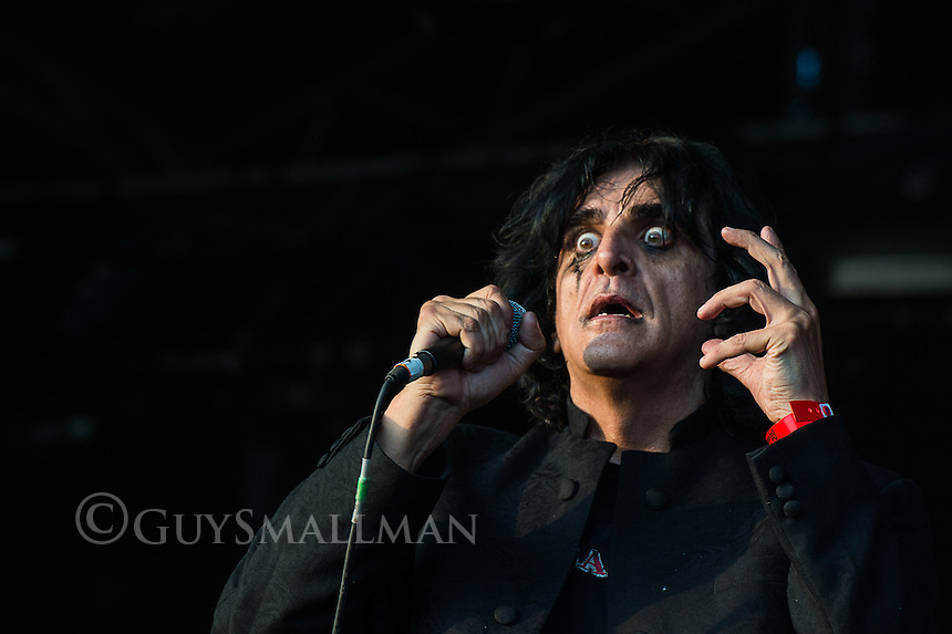 Killing Joke onstage.