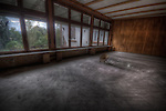 Abandoned hospital room in the Black Forest.