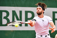 Nikoloz Basilashvili during Day 2 of the French Open 2018 on May 28, 2018 in Paris, France. (Photo by Dave Winter/Icon Sport)