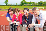 Staff at the Riocht athlethics centre from left Brid Kenny, Betsy Brosnan, Sheena Brosnan and Dinny McSweeny.