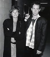 New York City<br /> 1985 <br /> John McEnroe and Tatum O'Neal<br /> Photo By John Barrett-PHOTOlink.net/MediaPunch