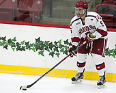 Clay Anderson (Harvard - 5) - The Harvard University Crimson defeated the US National Team Development Program's Under-18 team 5-2 on Saturday, October 8, 2016, at the Bright-Landry Hockey Center in Boston, Massachusetts.