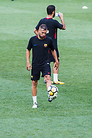 HARRISON, EUA, 21.07.2017 - BARCELONA-JUVENTUS -  Jordi Alba do Barcelona durante treino um dia antes da partida contra a Juventus pela International Champions Cup na Red Bull Arena na cidade de Harrison nos Estados Unidos nesta sexta-feira, 21. (Foto: William Volcov/Brazil Photo Press)
