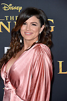 "LOS ANGELES, USA. July 10, 2019: Gina Carano at the world premiere of Disney's ""The Lion King"" at the Dolby Theatre.<br /> Picture: Paul Smith/Featureflash"