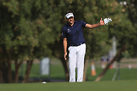 Ian Poulter (ENG) on the 3rd during Round 3 of the Omega Dubai Desert Classic, Emirates Golf Club, Dubai,  United Arab Emirates. 26/01/2019<br /> Picture: Golffile | Thos Caffrey<br /> <br /> <br /> All photo usage must carry mandatory copyright credit (© Golffile | Thos Caffrey)
