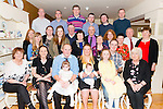Denis and Elaine Mulvihill from Currow celebrated the christening of their baby Caragh Denise surrounded by their friends and family in Kate Kearneys Cottage last Sunday.