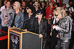 RUDOLF SCHENKER, MATTHIAS JABS, KLAUS MEINE, PAWEL MACIWODA, JAMES KOTTAK. The Scorpions are inducted into Hollywood's RockWalk, dedicated to honoring artists who have made a significant impact on Rock 'n' Roll, Blues and R&B. Hollywood, CA, USA. April 6, 2010. .
