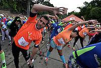 CALI -COLOMBIA. 26-06-2016. Carrera Cristo Rey 7K Under Armour realizada el 26 de junio de 2016 en la ciudad de Cali. / Cristo Rey 7K Race Under Armour held 26 June 2016 at Cali city. Photo: VizzorImage/ Gabriel Aponte / Staff