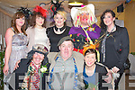 FAMILY: The couples family who attende the mock wedding in Ferriters Bar, Castlegregory on Friday night toe raise funds for BHOC, Front l-r: Sheila Curtin, Jimmy Dwyer and Fiona McSweeney. Back l-r: Aoife O'Shea, Mary Ferriter, Jade Harty, Richie Curtin and Fran Harty.