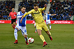 Leganes vs Villarreal Denis Cheryshev during Copa del Rey match. 20180104.
