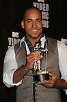 LOS ANGELES, CA. - September 12: Singer Romeo poses in the press room at the 2010 MTV Video Music Awards held at Nokia Theatre L.A. Live on September 12, 2010 in Los Angeles, California.