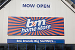 b&m home store now open sign, Copdock, Ipswich, England