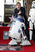 08 March 2018 - Hollywood, California - Mark Hamill. Mark Hamill Honored With Star On The Hollywood Walk Of Fame.  <br /> CAP/ADM/FS<br /> &copy;FS/ADM/Capital Pictures