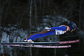 12th January 2018, Val di Fiemme, Fiemme Valley, Italy; FIS Nordic Combined World Cup, Mens Gundersen; Bryan Fletcher (USA)