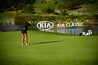 Anna Nordqvist (SWE) on the 16th green during the Final Round at the Kia Classic,Park Hyatt Aviara Resort, Golf Club &amp; Spa, Carlsbad, California, USA. 1/2/12.<br /> Picture: Golffile | Bruce Sherwood<br /> <br /> <br /> All photo usage must carry mandatory copyright credit (&copy; Golffile | Bruce Sherwood)
