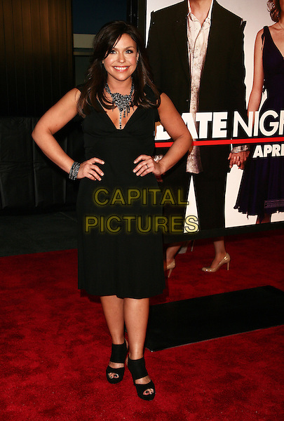RACHAEL RAY .New York City premiere of 'Date Night' held at the Ziegfeld Theater  New York City, New York, NY, USA..April 6th, 2010.full length rachel black dress hands on hips.CAP/ADM/PZ.©Paul Zimmerman/AdMedia/Capital Pictures.
