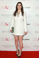 WEST HOLLYWOOD, CA, USA - OCTOBER 23: Sophie Simmons arrives at the Life & Style Weekly 10 Year Anniversary Party held at SkyBar at the Mondrian Los Angeles on October 23, 2014 in West Hollywood, California, United States. (Photo by David Acosta/Celebrity Monitor)
