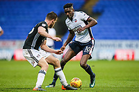 Bolton Wanderers' Sammy Ameobi vies for possession with Fulham's Tomas Kalas<br /> <br /> Photographer Andrew Kearns/CameraSport<br /> <br /> The EFL Sky Bet Championship - Bolton Wanderers v Fulham - Saturday 10th February 2018 - Macron Stadium - Bolton<br /> <br /> World Copyright &copy; 2018 CameraSport. All rights reserved. 43 Linden Ave. Countesthorpe. Leicester. England. LE8 5PG - Tel: +44 (0) 116 277 4147 - admin@camerasport.com - www.camerasport.com