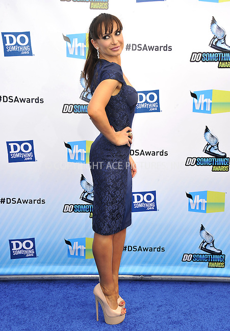 WWW.ACEPIXS.COM....August 19,2012, Santa Monica, CA.....Karina Smirnoff arriving at the 2012 Do Something Awards at Barker Hangar on August 19, 2012 in Santa Monica, California.........By Line: Peter West/ACE Pictures....ACE Pictures, Inc..Tel: 646 769 0430..Email: info@acepixs.com