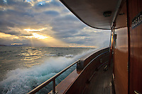 Sunset from the live aboard ç
