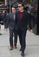 NEW YORK, NY- October 09: Clive Owen at Good Morning America promoting Gemini Man in New York City on October 09, 2019. Credit: RW/MediaPunch