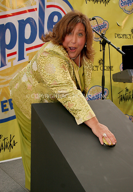 WWW.ACEPIXS.COM . . . . .  ....NEW YORK, MAY 22, 2006....Wendy the Snapple Lady at opening night party of the Snapple Theater.....Please byline: NANCY RIVERA- ACEPIXS.COM.... *** ***..Ace Pictures, Inc:  ..Craig Ashby (212) 243-8787..e-mail: picturedesk@acepixs.com..web: http://www.acepixs.com