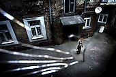 Warsaw 23.04.2008 Poland<br /> Warsaw disrict North Praga calls the most dangerous place in Polish capitol by city dweller<br /> (Photo by Adam Lach / Napo Images for Newsweek Polska)<br /> <br /> Warszawska dzielnica Praga Polnoc uznawana za najbardziej niebezpieczna przez mieszkancow stolicy<br /> (Fot Adam Lach / Napo Images dla Newsweek Polska)