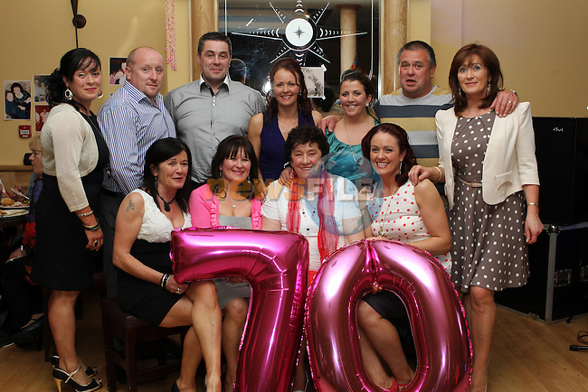 Suprise 70th in the Thatch...(Photo Jenny Matthews/www.newsfile.ie)