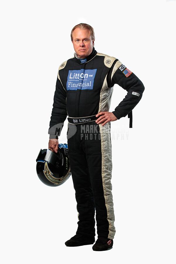 Feb 6, 2019; Pomona, CA, USA; NHRA top fuel driver Bill Litton poses for a portrait during NHRA Media Day at the NHRA Museum. Mandatory Credit: Mark J. Rebilas-USA TODAY Sports
