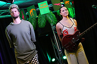 BALA CYWYD, PA - NOVEMBER 20 :  Sofi Tukker visit Radio 104.5 performance studio in Bala Cynwyd, Pa on November 20, 2017   Credit:  Star Shooter / MediaPunch /NortePhoto.com
