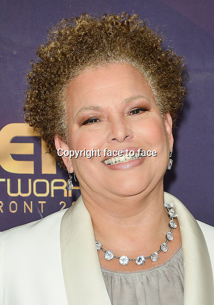 NEW YORK- APRIL 23: Debra Lee attends the 2014 BET Networks Upfront at the London Hotel on April 23, 2014 in New York City. Credit: PGLT/MediaPunch<br /> Credit: MediaPunch/face to face<br /> - Germany, Austria, Switzerland, Eastern Europe, Australia, UK, USA, Taiwan, Singapore, China, Malaysia, Thailand, Sweden, Estonia, Latvia and Lithuania rights only -